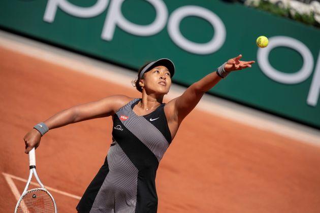 Naomi Osaka à Roland Garros le 30 mai
