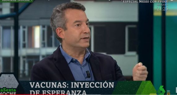 El médico César Carballo, en 'La Sexta
