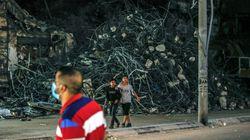 Israel bombardea Gaza en el segundo ataque desde el alto el