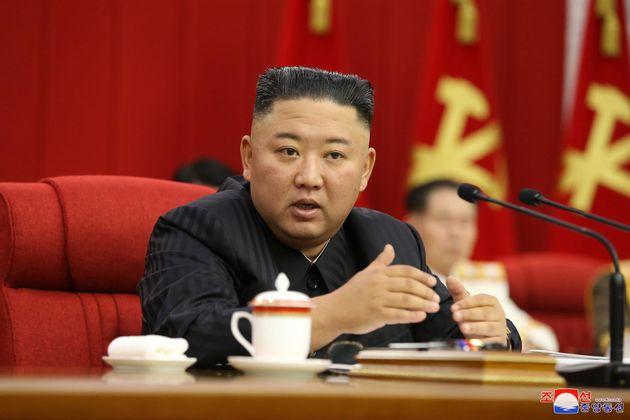 El líder de Corea del Norte, Kim