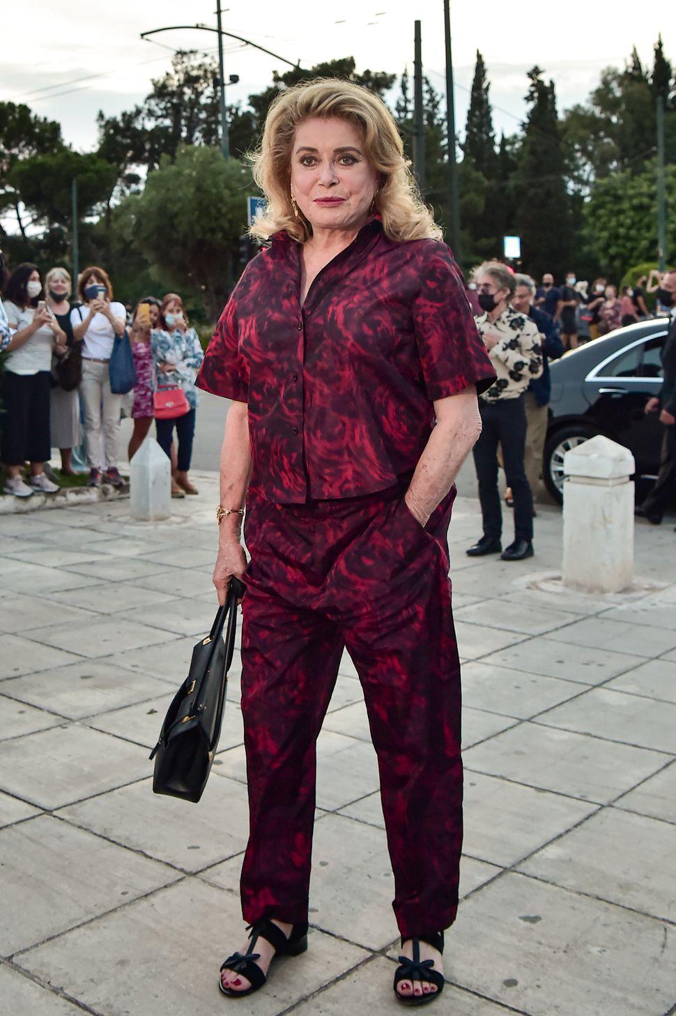 Η ηθοποιός Κατρίν Ντενέβ.