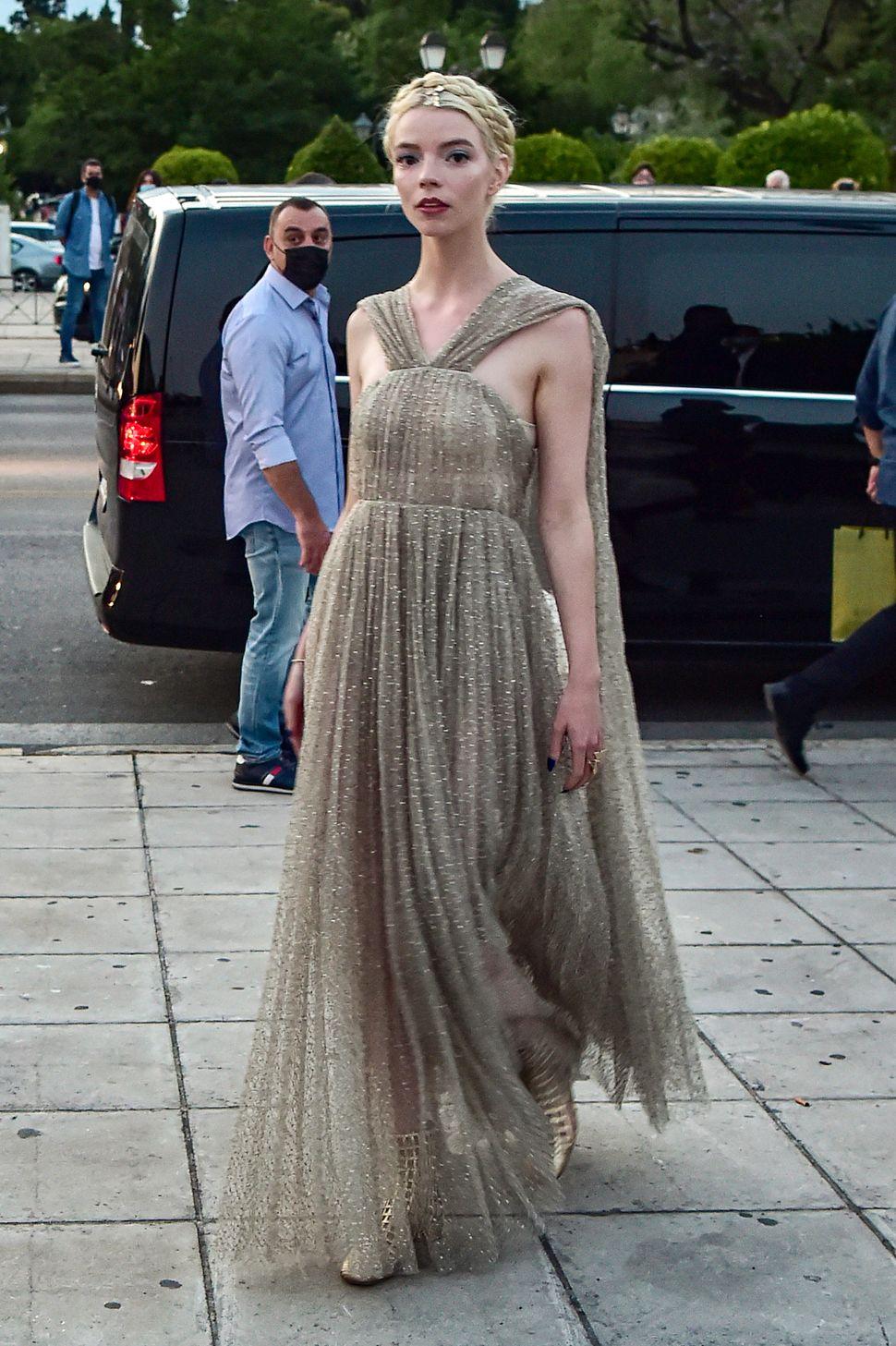 Η ηθοποιός Άνια Τέιλορ Τζόι.