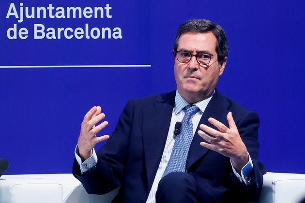 Antonio Garamendi, presidente de la