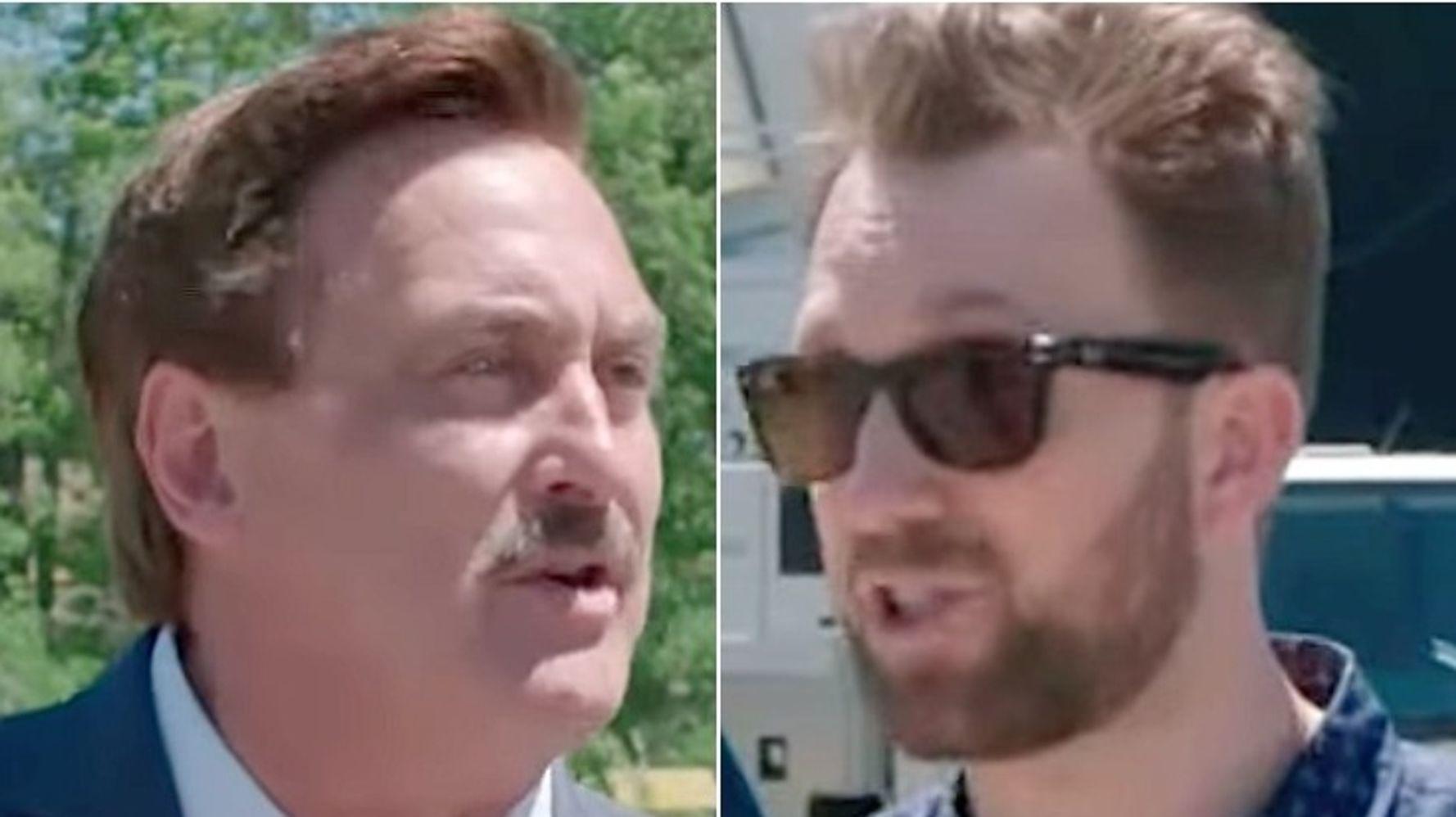 MyPillow Guy Loses It On Jordan Klepper As 'Daily Show' Bit Flies Off The Rails