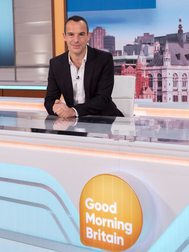 Martin Lewis in the Good Morning Britain