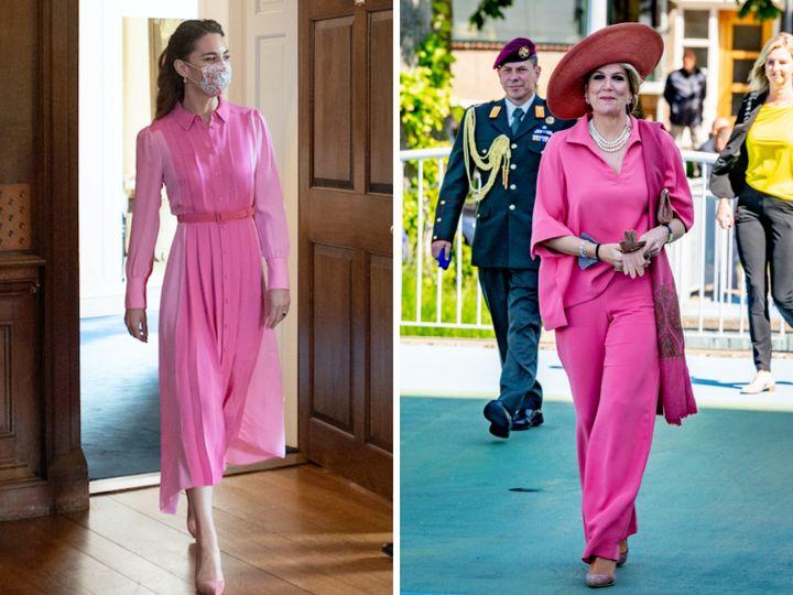 Kate Middleton y Máxima de Holanda