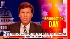 Tucker Carlson And The Far Right Want To Recast Jan. 6 As A False Flag By The Deep State