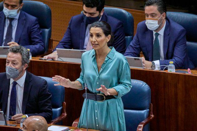 Rocío Monasterio, en la Asamblea de