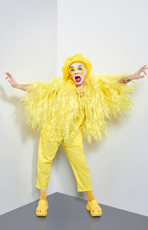 Ginny Lemon in her Drag Race promo