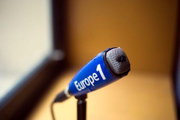 Un micro d'Europe 1 le 26 mars