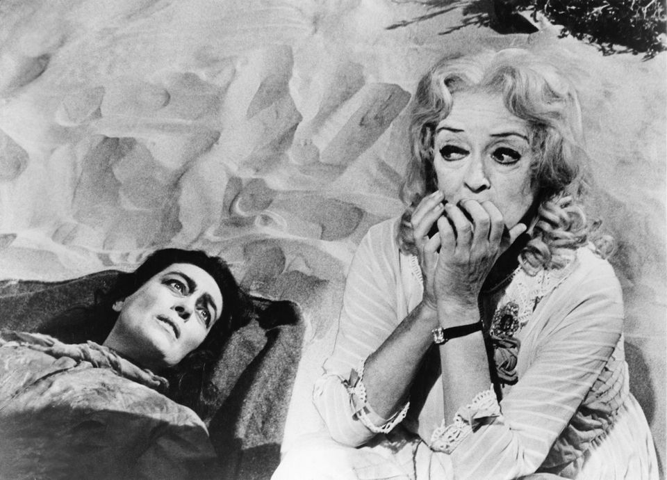 Joan Crawford and Bette Davis in Whatever Happened To Baby
