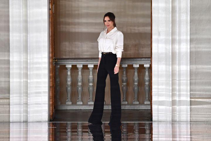 Victoria Beckham show during London Fashion Week February 2020