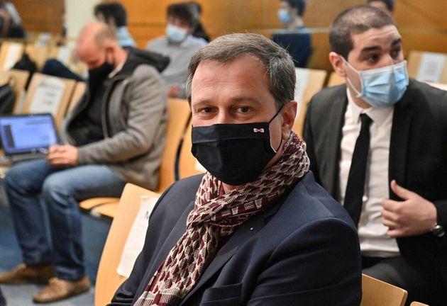 Le maire RN de Perpignan, Louis Aliot, le 15 février 2021 à