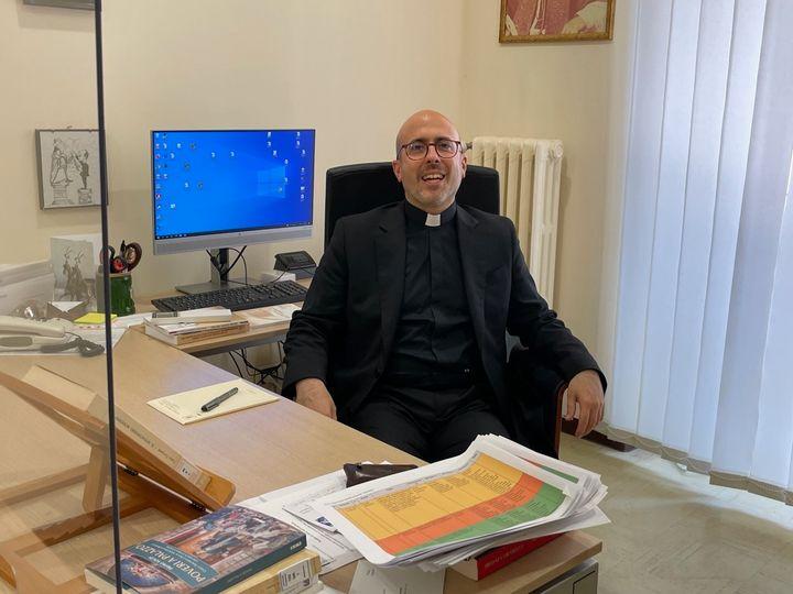 El profesor Roberto Regoli, histórico del pontificado del Papa Benedetto y director de la Facultad de Historia y Bienes Culturales de la Iglesia de la Universidad Pontificia Gregoriana.