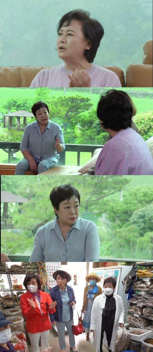 19일KBS 2TV 예능 프로그램 '박원숙의 같이 삽시다'