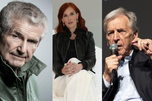 Claude Lelouche, Audrey Fleurot et Costa