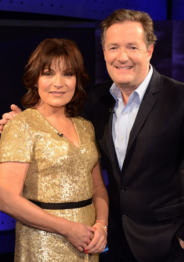 Lorraine Kelly and Piers