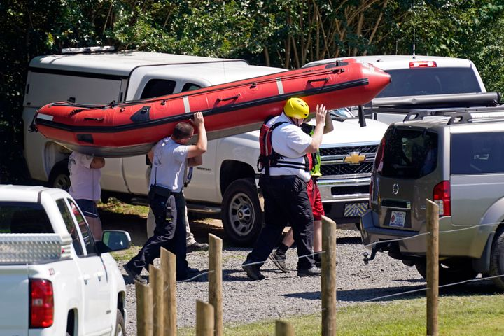 The search for two missing tubers continues after three others were found dead and four more were pulled from the water after