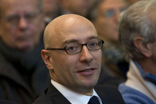 Mario Vattani alla convention del partito La Destra al teatro Olimpico di Roma, 09 dicembre 2012. ANSA/MASSIMO