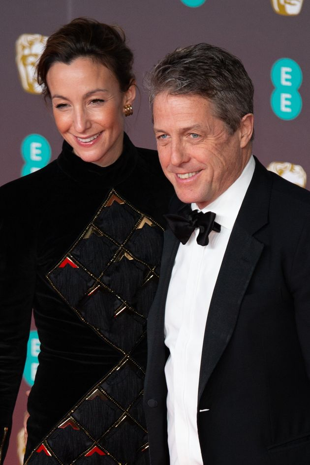 Anna Eberstein and Hugh Grant at last year's