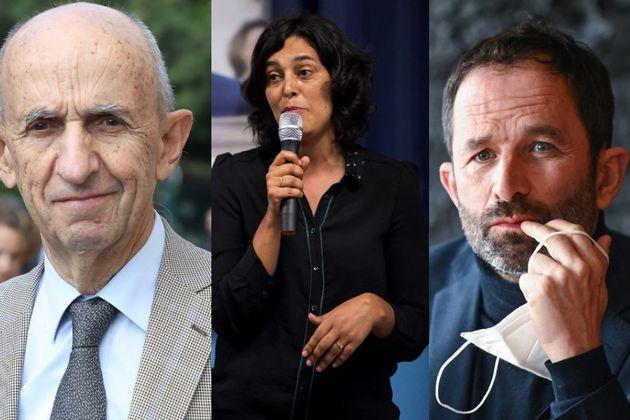 Louis Gallois, Myriam El Khomri, et Benoit