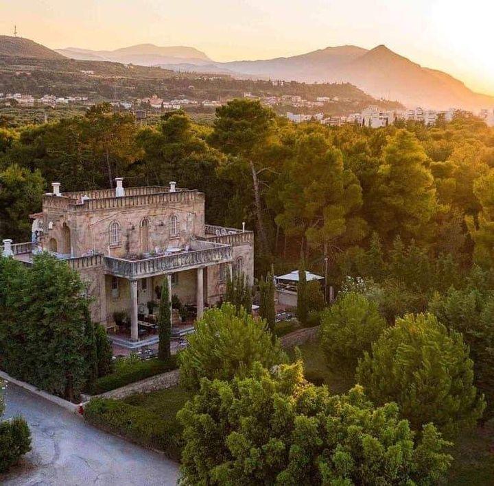 Πανοραμική άποψη της βίλλας Σικελιανού - Πάλμερ