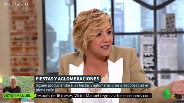 Cristina Pardo, en 'Liarla