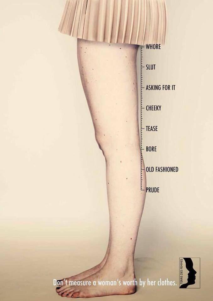 2015년 독일 비영리 여성 단체 테레데스펨므의 광고
