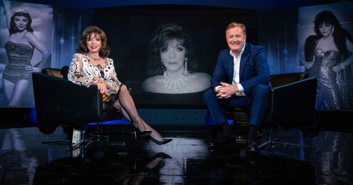 Joan Collins Perfectly Shuts Down Piers Morgan When Quizzed About Prince Harry And Meghan Markle