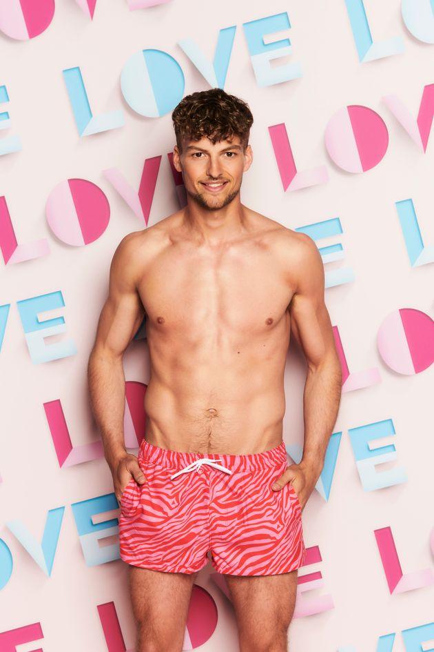 Love Island's Hugo