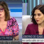 Ana Rosa lanza una pulla personal a Díaz Ayuso: ella no la ve venir y responde