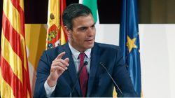 Acto de Pedro Sánchez en Barcelona, en vísperas de los posibles
