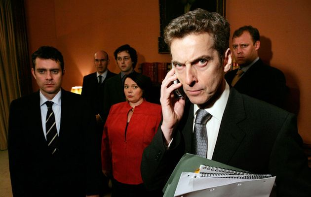 Peter Capaldi (right) in The Thick Of