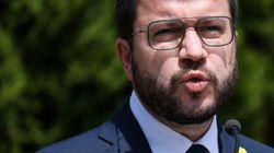 Aragonès sobre los indultos: