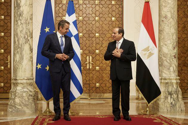 Μητσοτάκης: Αίγυπτος και Ελλάδα υπηρετούν τη σταθερότητα και την ασφάλεια στην Αν.