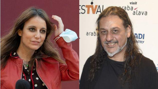 La política Andrea Levy y Dioni Martínez, cantante de