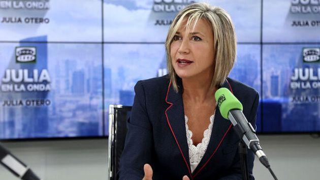 La periodista Julia Otero reaparece en la