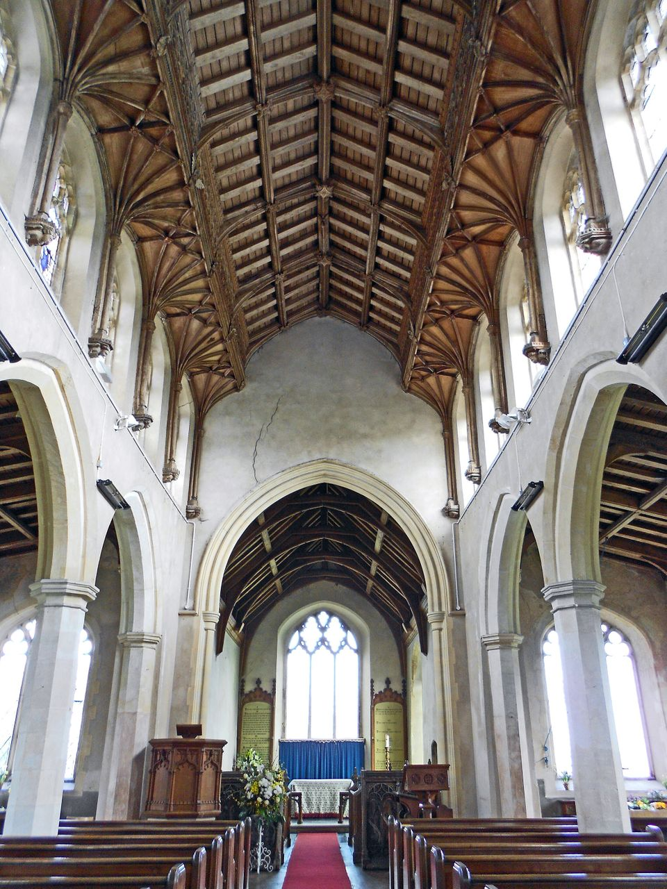 The medieval church at Ringland in Norfolk is a glorious setting for an Austen wedding, but not all ceremonies were joyous an