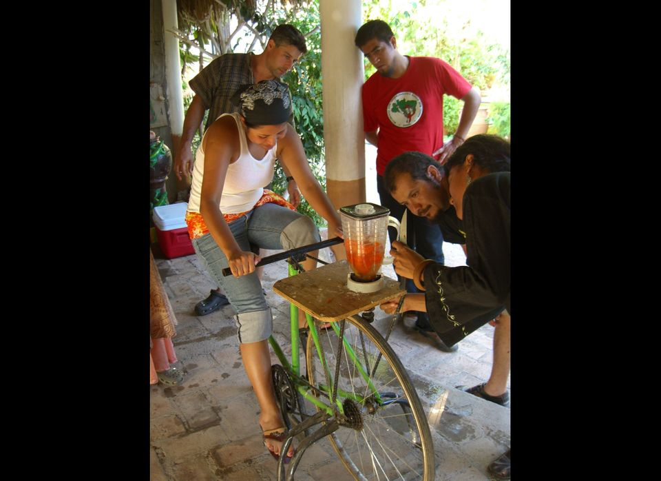 Carlos Marroquín and colleagues at Maya Pedal in Guatemala recognized that salvaged bicycles could be reconstituted into huma