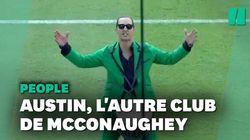 Matthew McConaughey va très loin pour défendre son club de