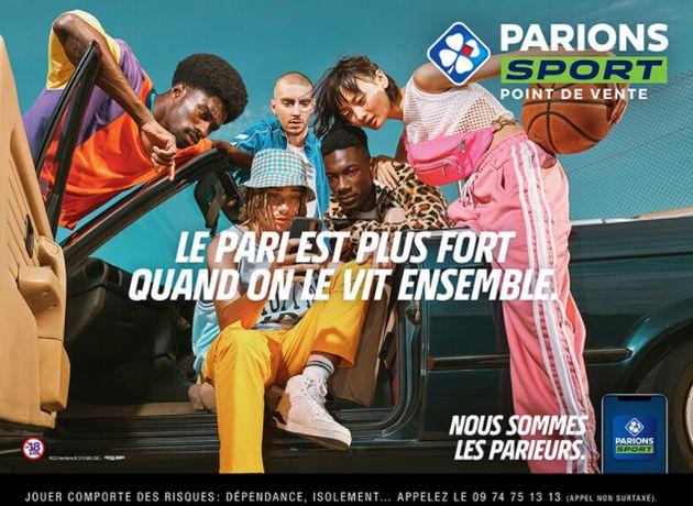 Publicité FDJ Parions