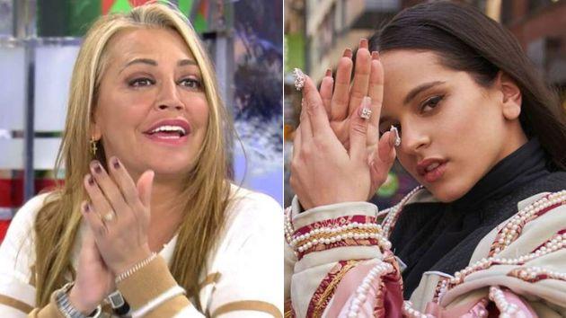 Belén Esteban y Rosalía