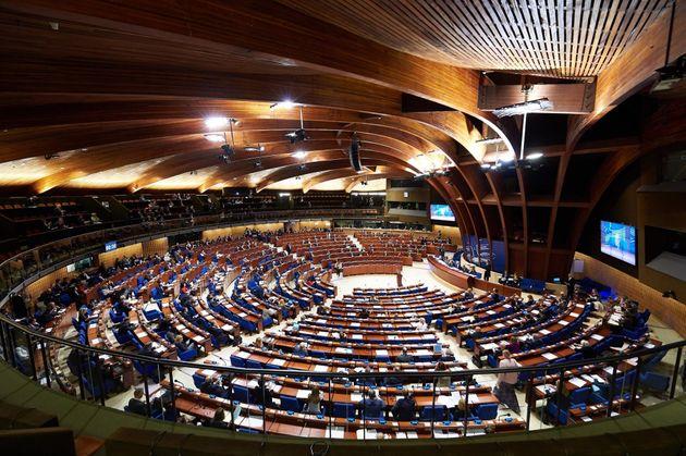 Fotografía de archivo de la Asamblea Parlamentaria del Consejo de