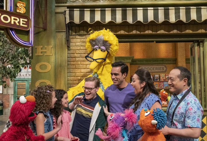"""""""Sesame Street"""" unveiled its """"Family Day"""" episode June 17."""