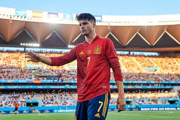 Álvaro Morata, uno de los más cuestionados de 'La Roja'... y único goleador hasta