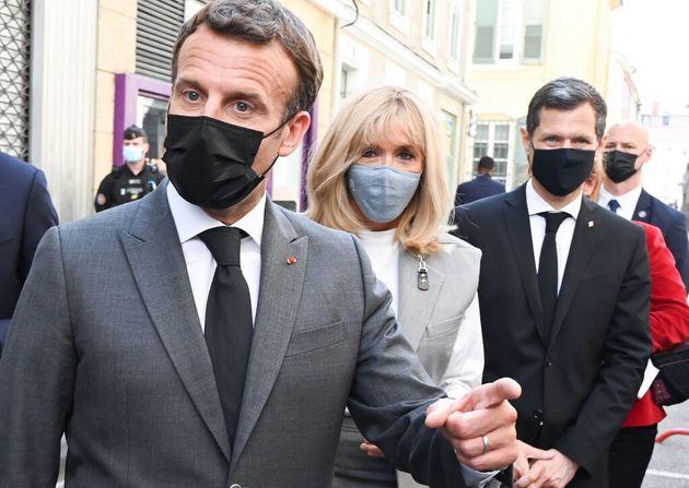 Lors d'un déplacement dans la Drome le 8 juin 2021, Emmanuel Macron avait été giflé par un homme de 28