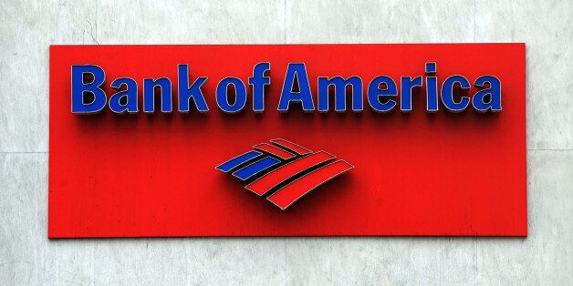The Bank of America logo is seen at a branch in Hollywood on October 19, 2010. Two top US banks are moving on the offensive a