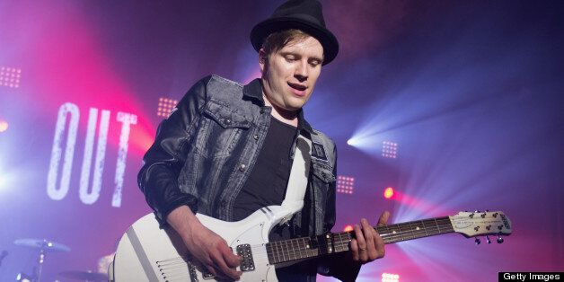 MILWAUKEE, WI - MAY 14: Patrick Stump of Fall Out Boy performs during the Save Rock and Roll Tour opener at The Rave on May 14, 2013 in Milwaukee, Wisconsin. (Photo by Daniel Boczarski/Getty Images)