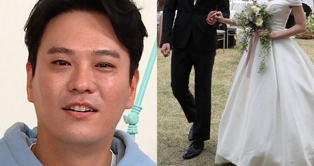 SG워너비 김용준. 결혼식
