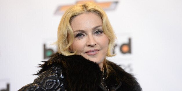 LAS VEGAS, NV - MAY 19:  Madonna poses in the press room during the 2013 Billboard Music Awards at the MGM Grand Garden Arena